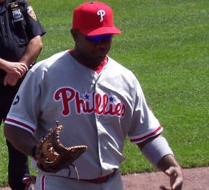 Ryan Howard of the non-Yankees Phillies, a pauper who doesn't stand a chance